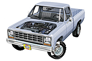 Picture of Dodge W100 Pickup 1974-1974