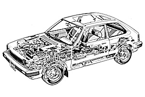 Picture of Honda Civic 1300 CVCC