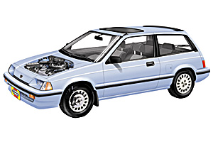 Picture of Honda CRX