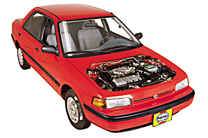 Picture of Mazda 323 1990-2003