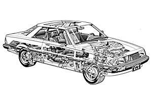 Picture of Mazda 626 1979-1982