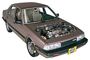 Picture of Mazda MX-6 1983-1992