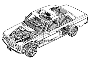 Picture of Mercedes-Benz 280