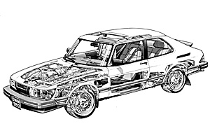 Picture of Saab 900
