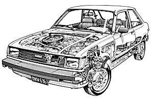 Picture of Toyota Corolla Tercel