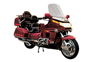Picture of Honda Motorcycle Gold Wing