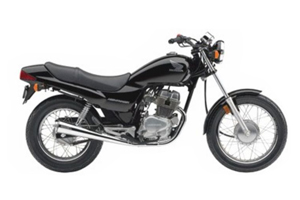Picture of Honda Motorcycle CB250 Nighthawk