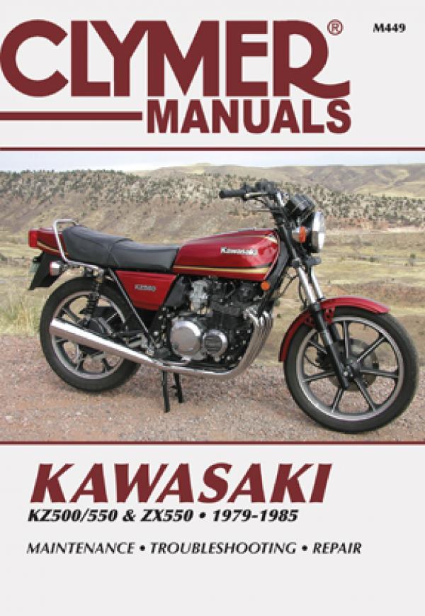 Kawasaki KZ500/550 & ZX550 Motorcycle (1979-1985) Service Repair Manual