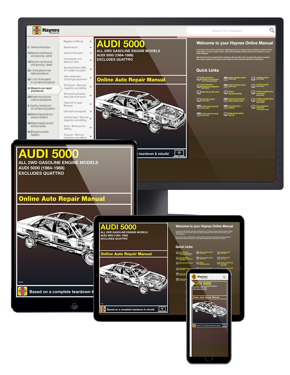 Enlarge Audi 5000 ...