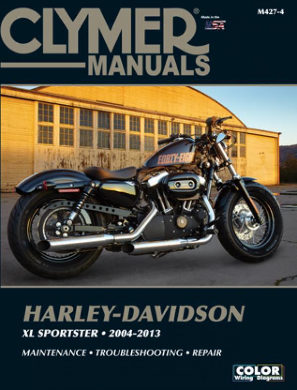 Harley-Davidson Sportster Motorcycle (2004-2013) Service Repair Manual Online Manual