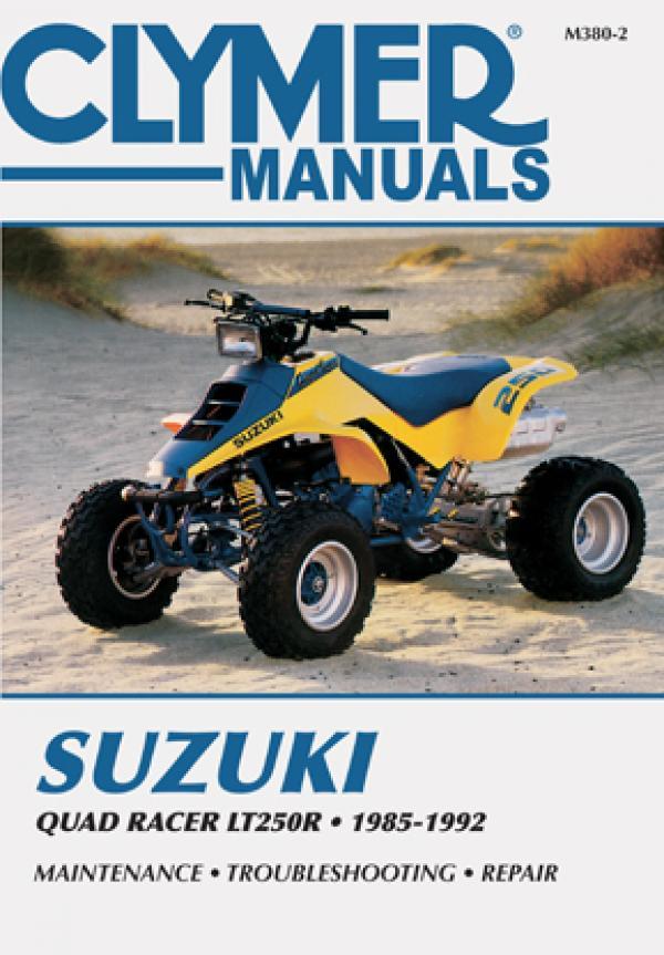 Suzuki Quad Racer LT250R ATV (1985-1992) Service Repair Manual