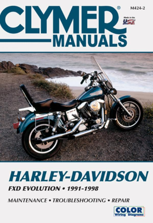 Harley-Davidson FXDWG Wide Glide (1993 - 1998) Repair Manuals on