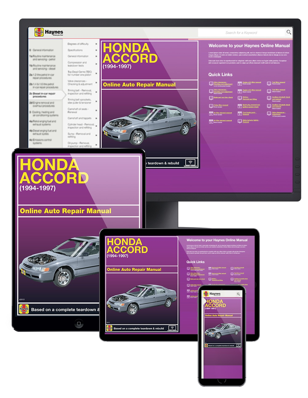 Enlarge Honda Accord (94-97) Haynes Online Manual