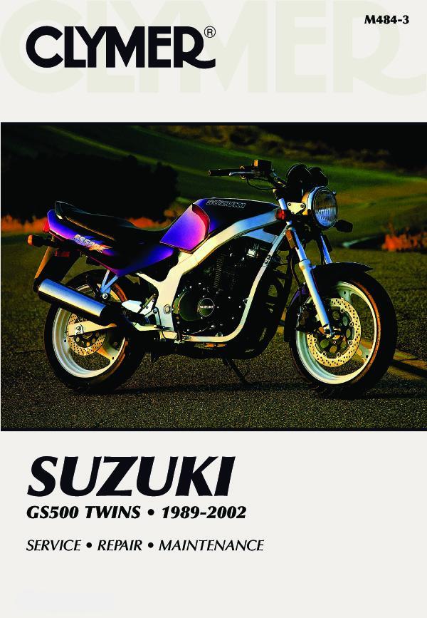Suzuki GS500E Twins Motorcycle (1989-2002) Service Repair Manual