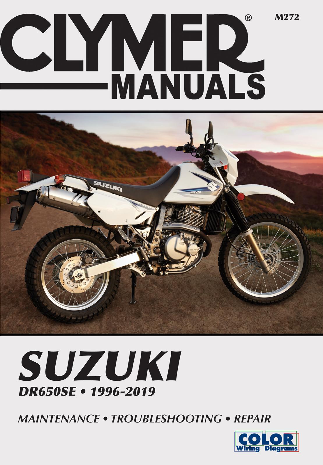 Suzuki DR650 Series Motorcycle (1996-2019) Service Repair Manual