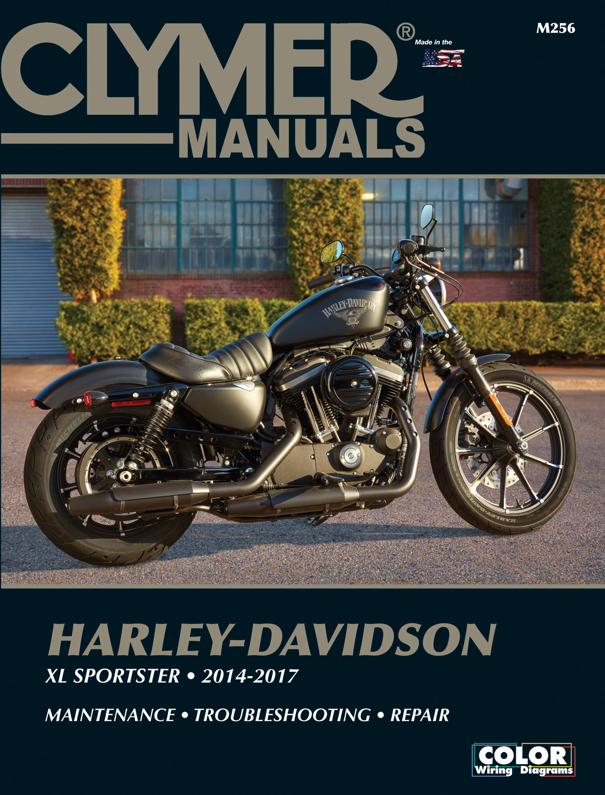 Harley Davidson Xl883n Iron 883 2014 2017 Repair Manuals Sportster Wiring Diagram Enlarge Xl
