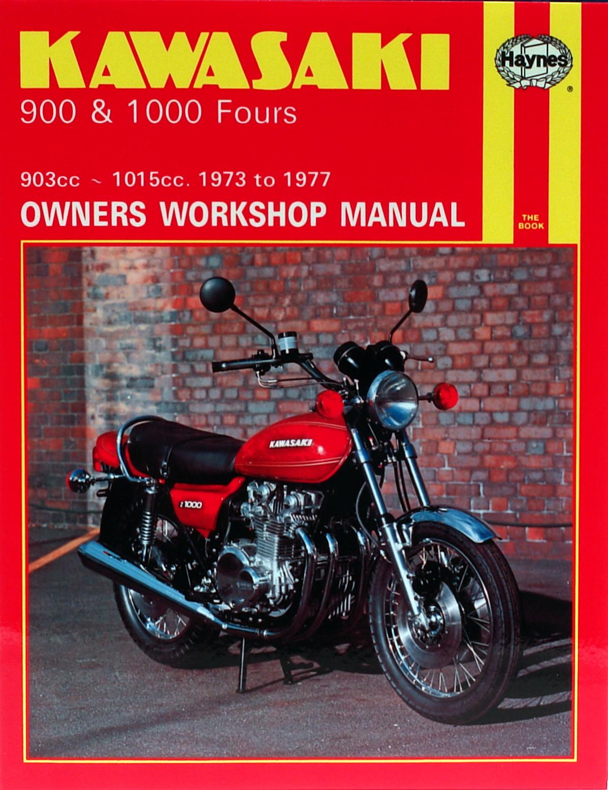 Kawasaki 900 and 1000 Fours (73-77) Haynes Repair Manual