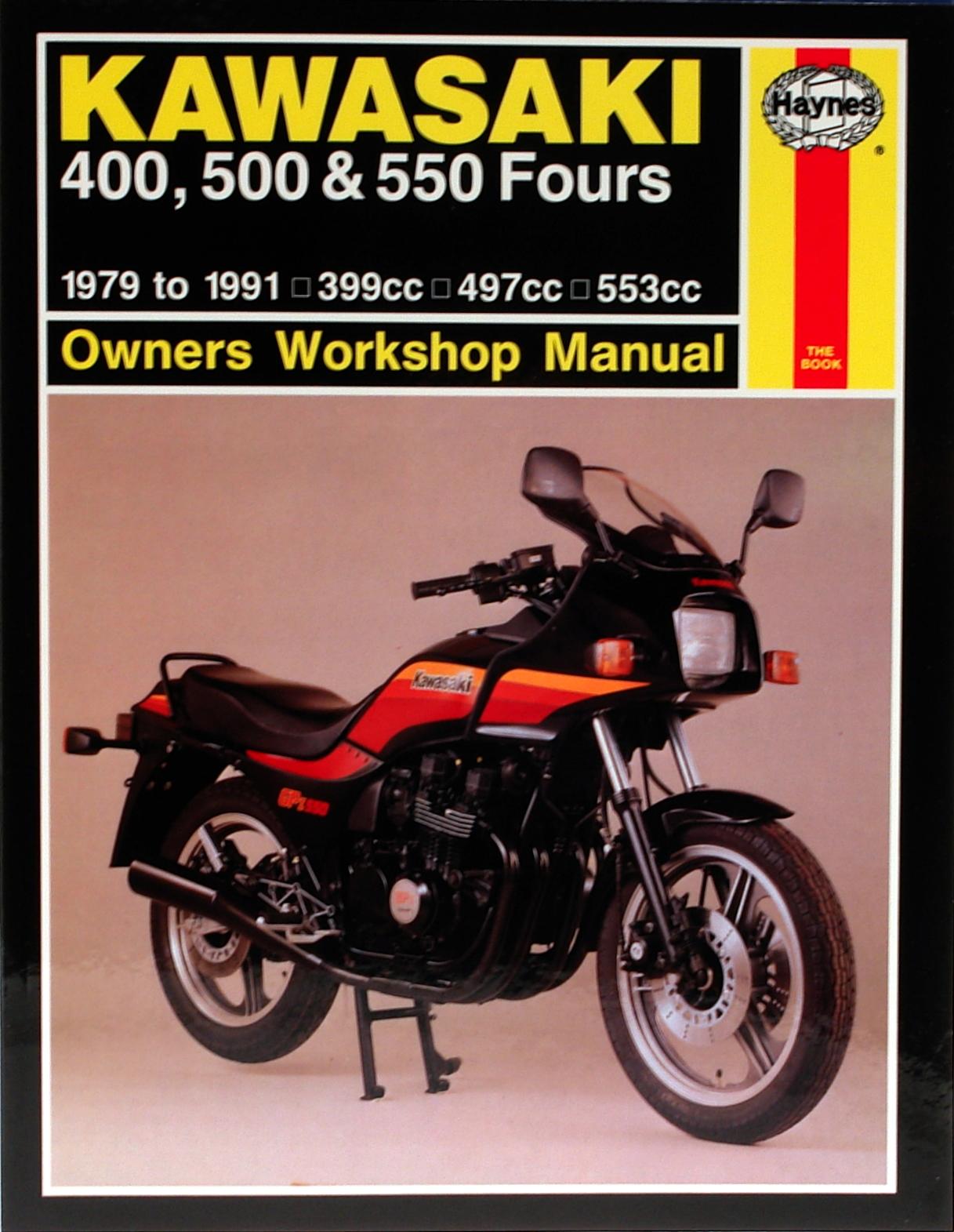 Kawasaki KZ550 Fours (80-84) & ZX550 Fours (84-85) Haynes Repair Manual