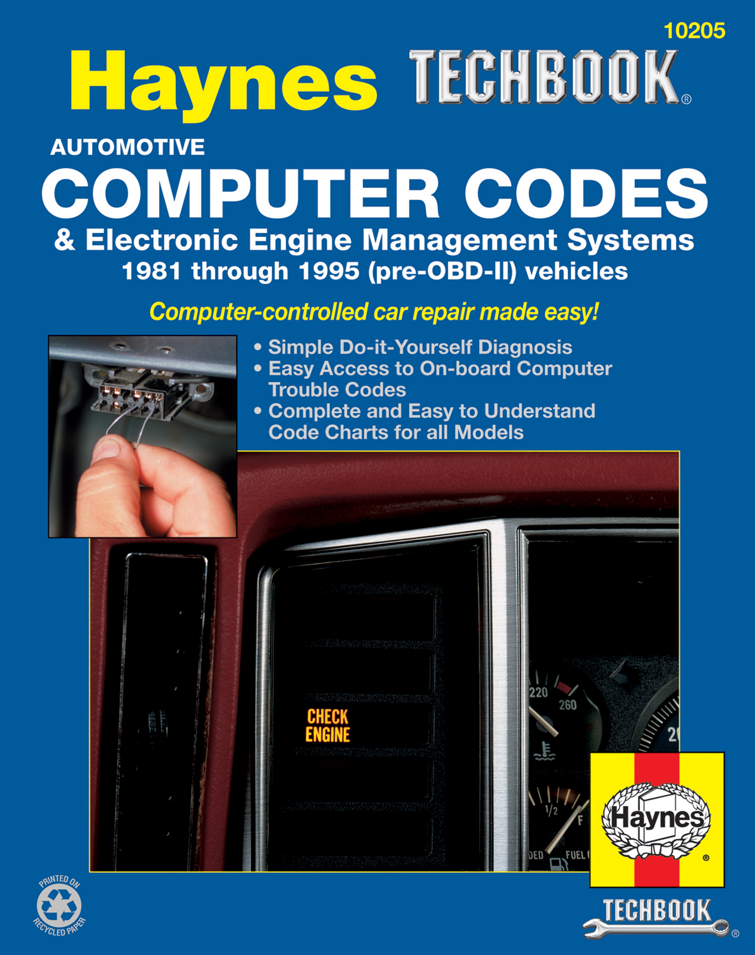 Automotive Computer Codes & Electronic Engine Management Systems (81-95)  Haynes Techbook
