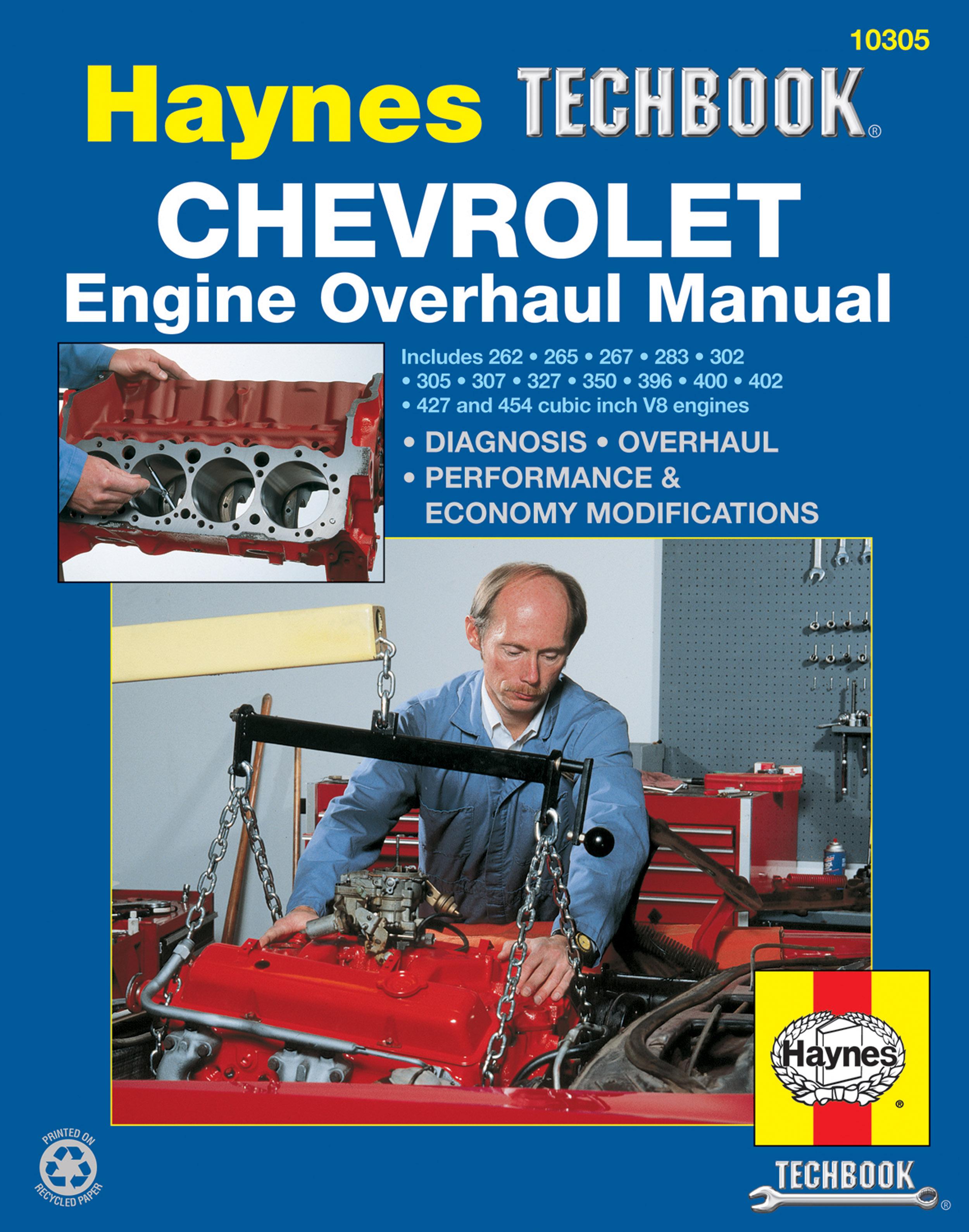 Chevrolet Engine Overhaul Haynes Techbook