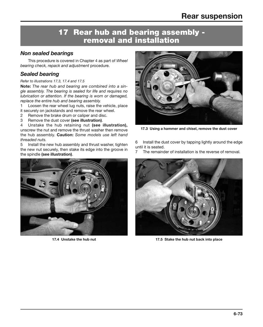 Suspension Steering and Driveline Manual Haynes USA Techbook
