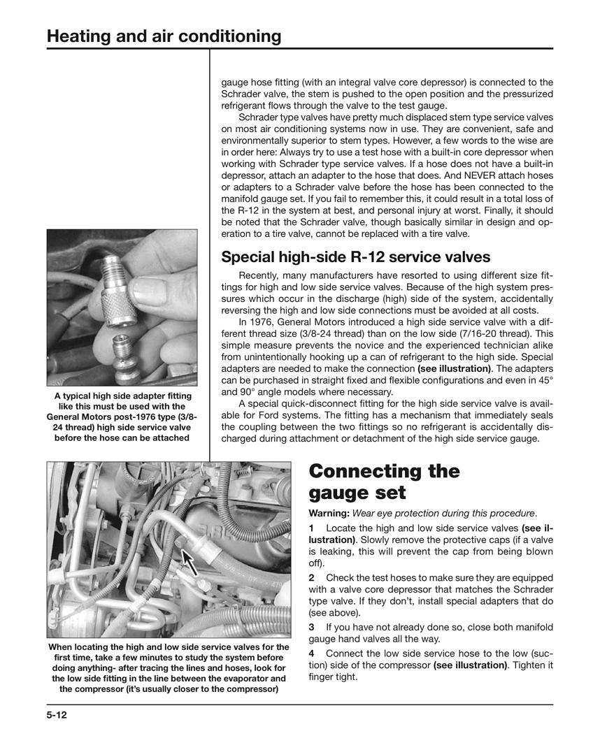 Automotive Heating & Air Conditioning Haynes Techbook