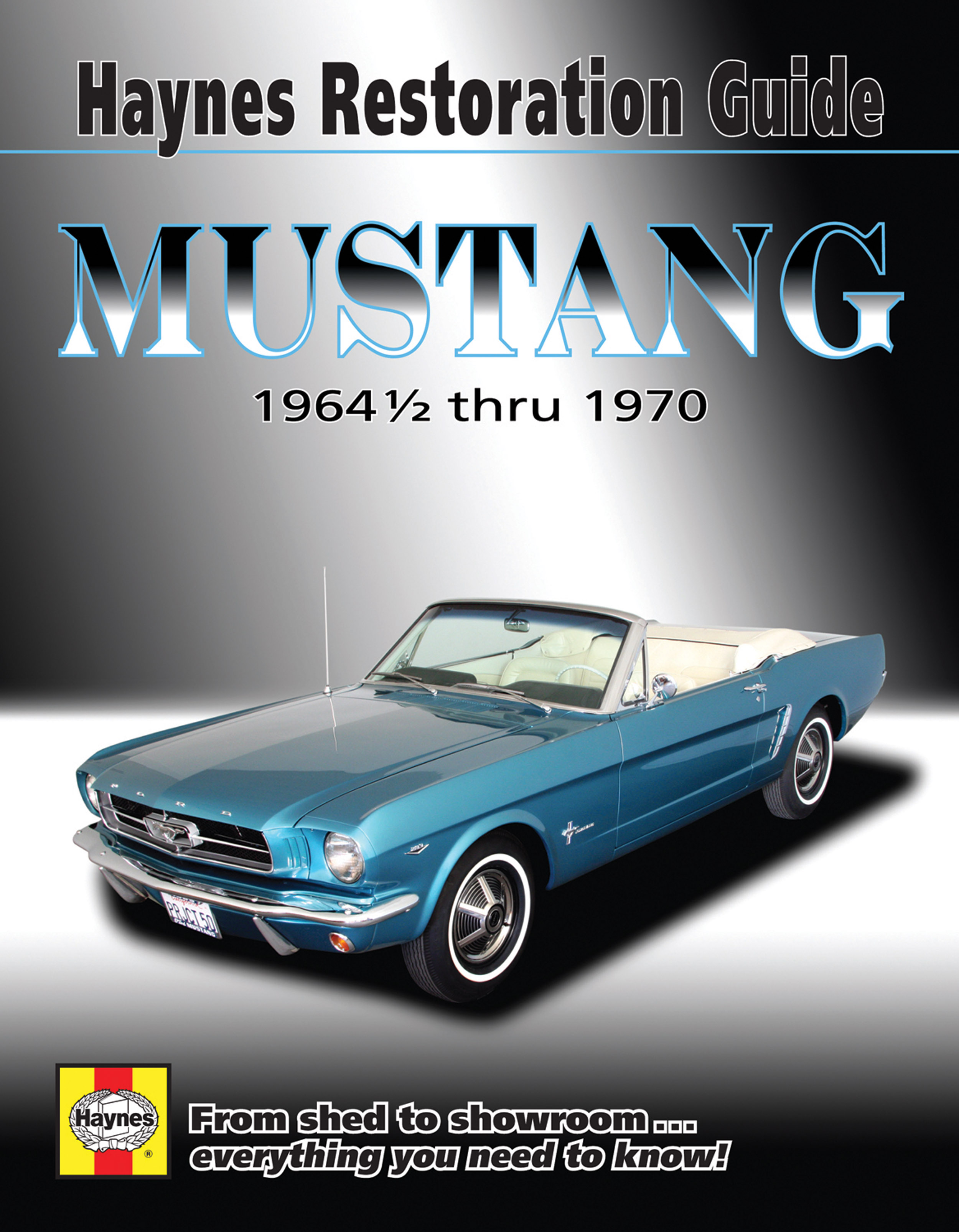 Enlarge ford mustang
