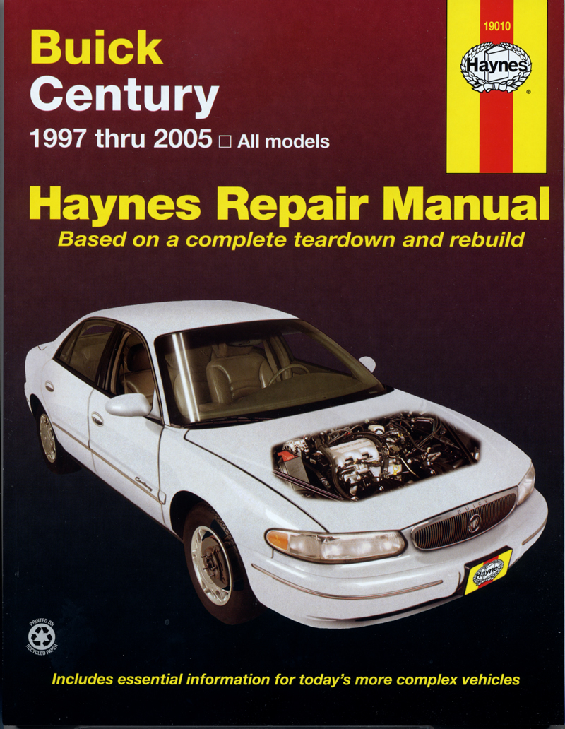 Enlarge Buick Century (97-05) Haynes Repair Manual