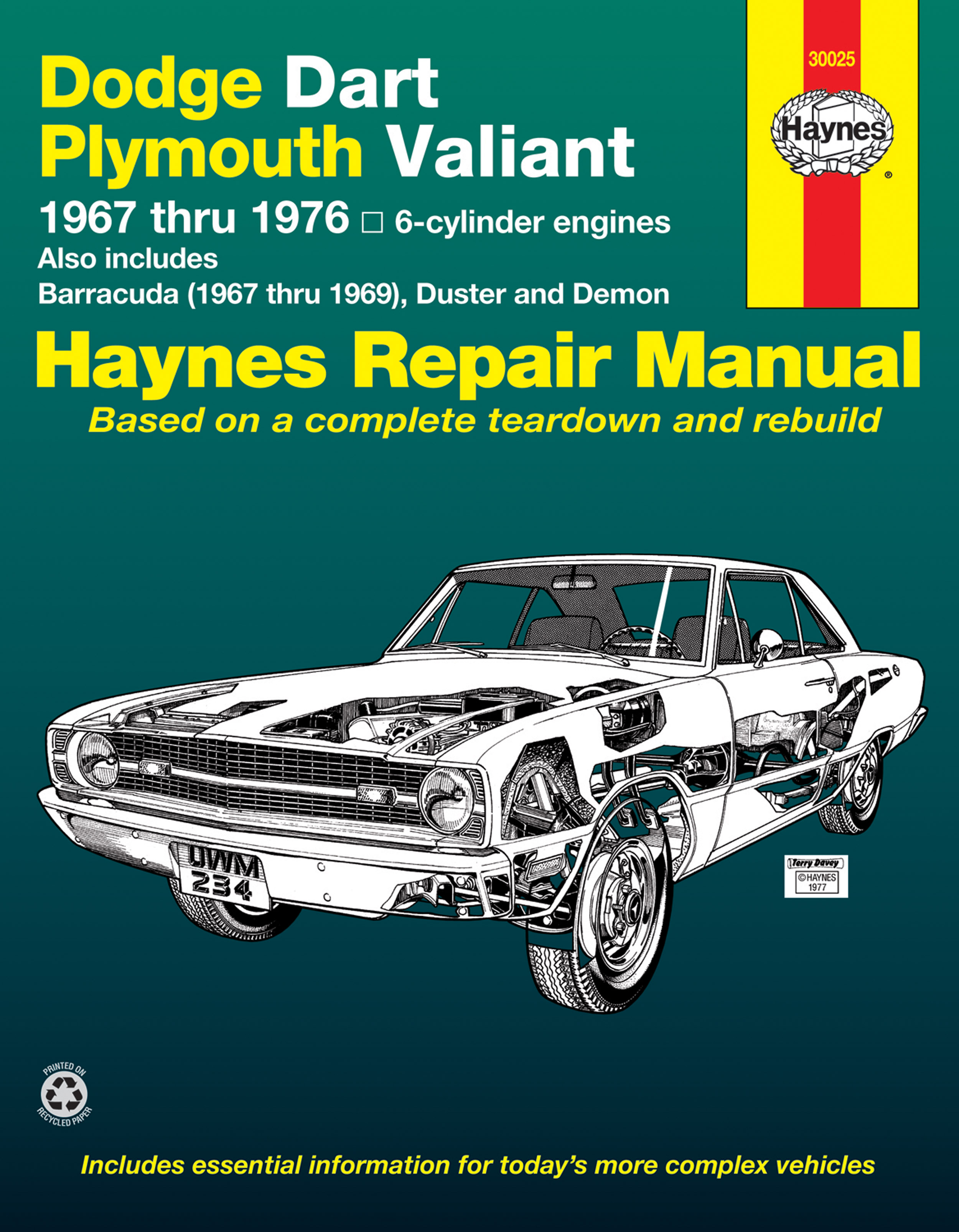 dodge dart plymouth valiant covering dodge dart demon plymouth rh haynes com 1969 dodge dart service manual 2015 dodge dart service manual