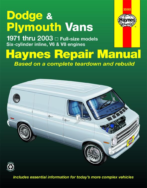 dodge tradesman sportsman plymouth voyager full size in line 6 rh haynes com 2006 Dodge Grand Caravan Service Manual Dodge Truck Service Manual