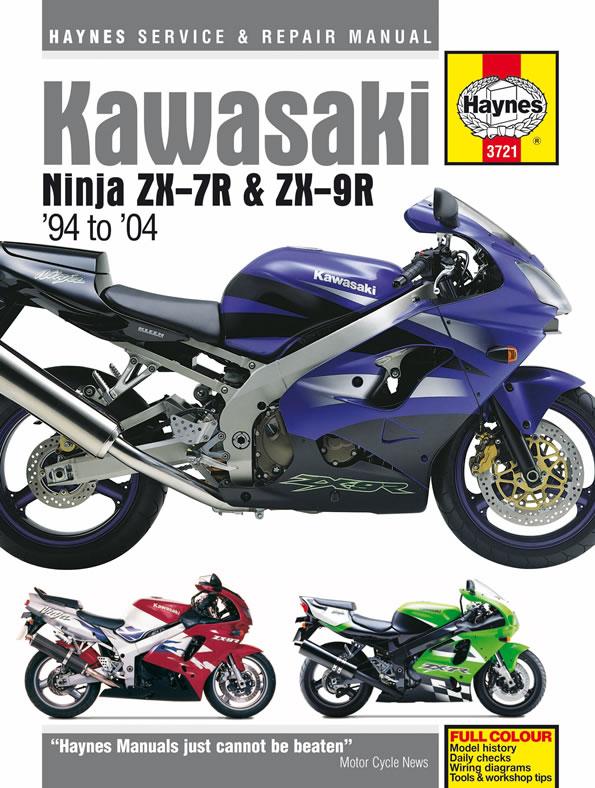 Kawasaki ZX-7R & ZX-9R Ninjas (94-04) Haynes Repair Manual