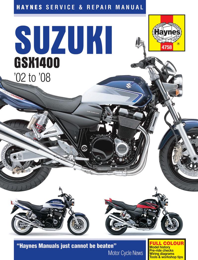 Suzuki GSX1400 (02-08) Haynes Repair Manual (Includes Final Edition Model)