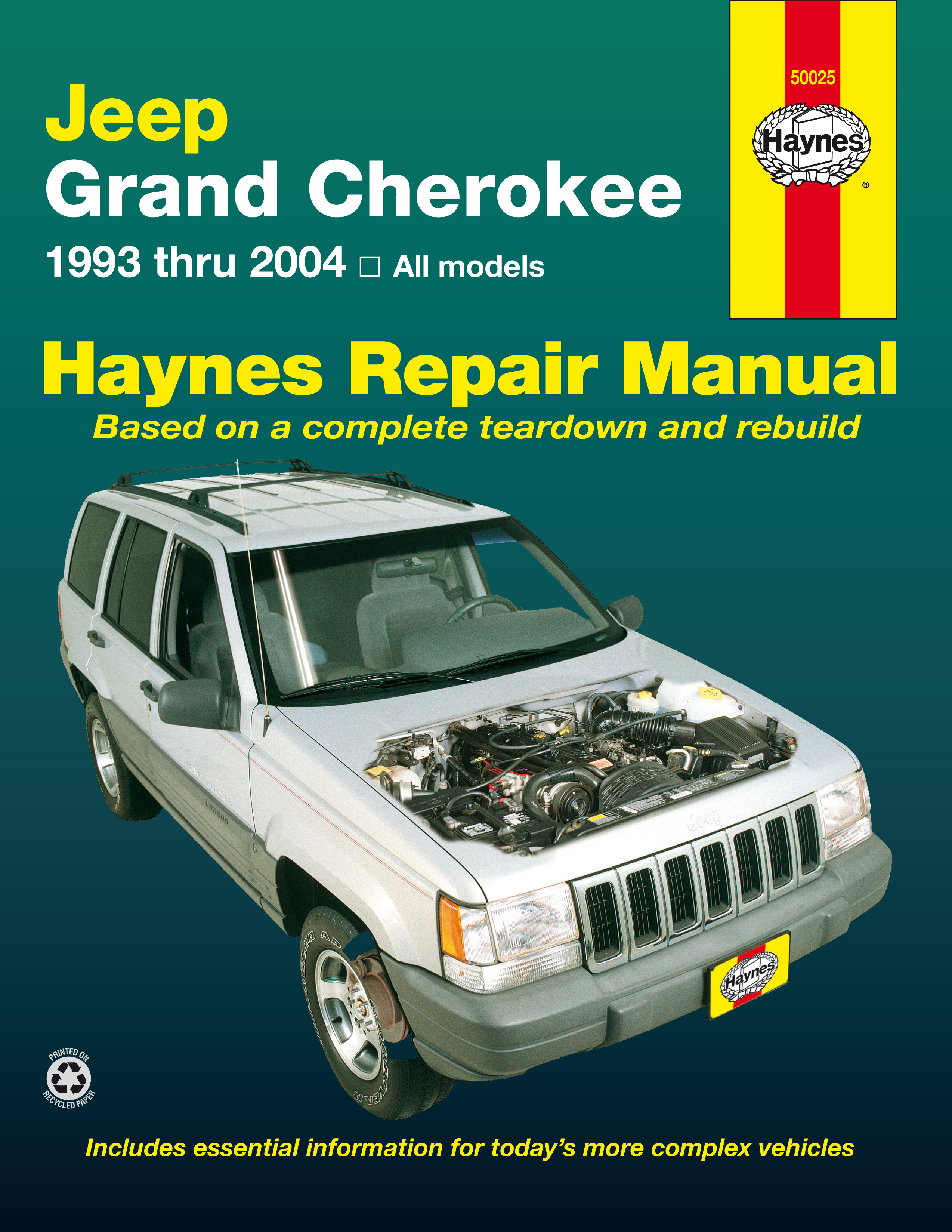 Enlarge Jeep Grand Cherokee (93-04) Haynes Repair Manual