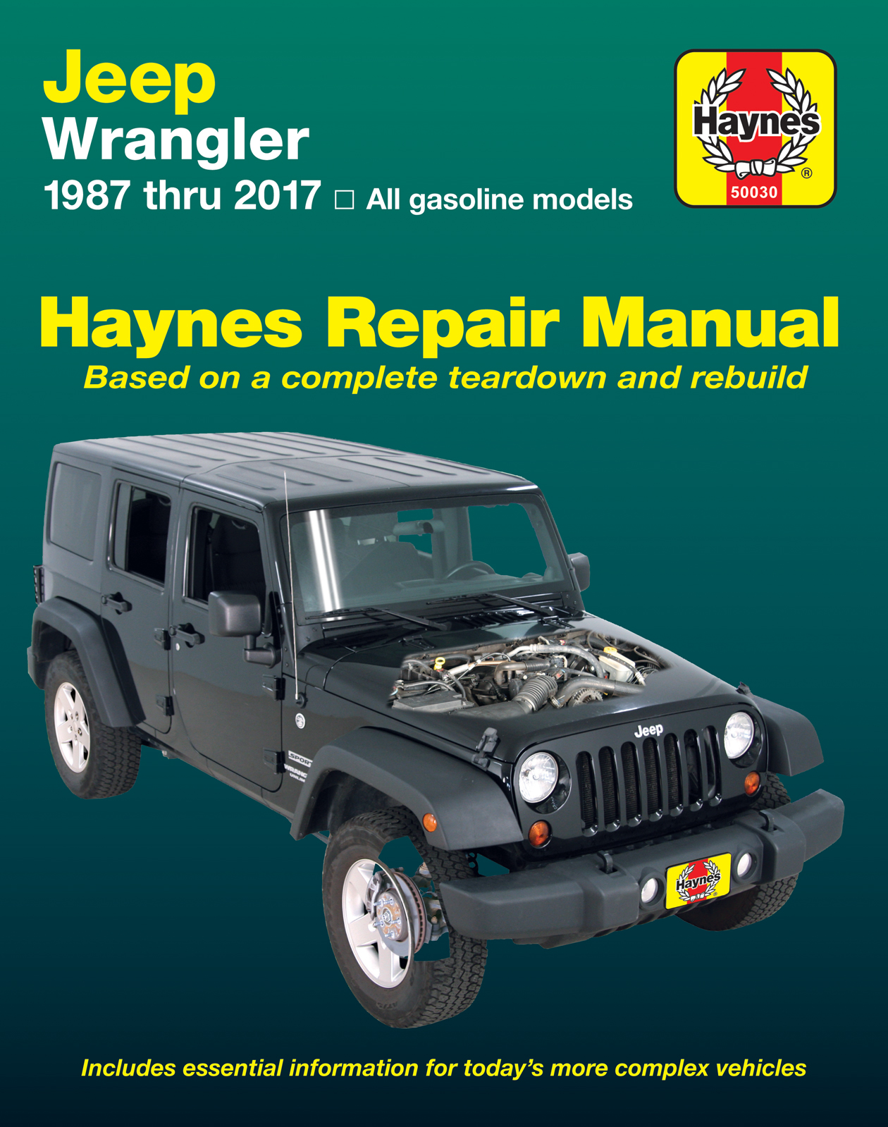 Printed manual. Enlarge Jeep Wrangler ...