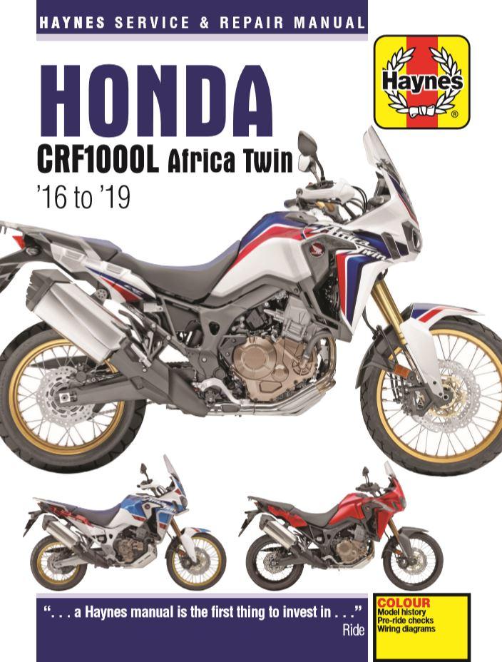 Honda CRF1000 Africa Twin (16-18) Haynes Repair Manual --COMING SOON--