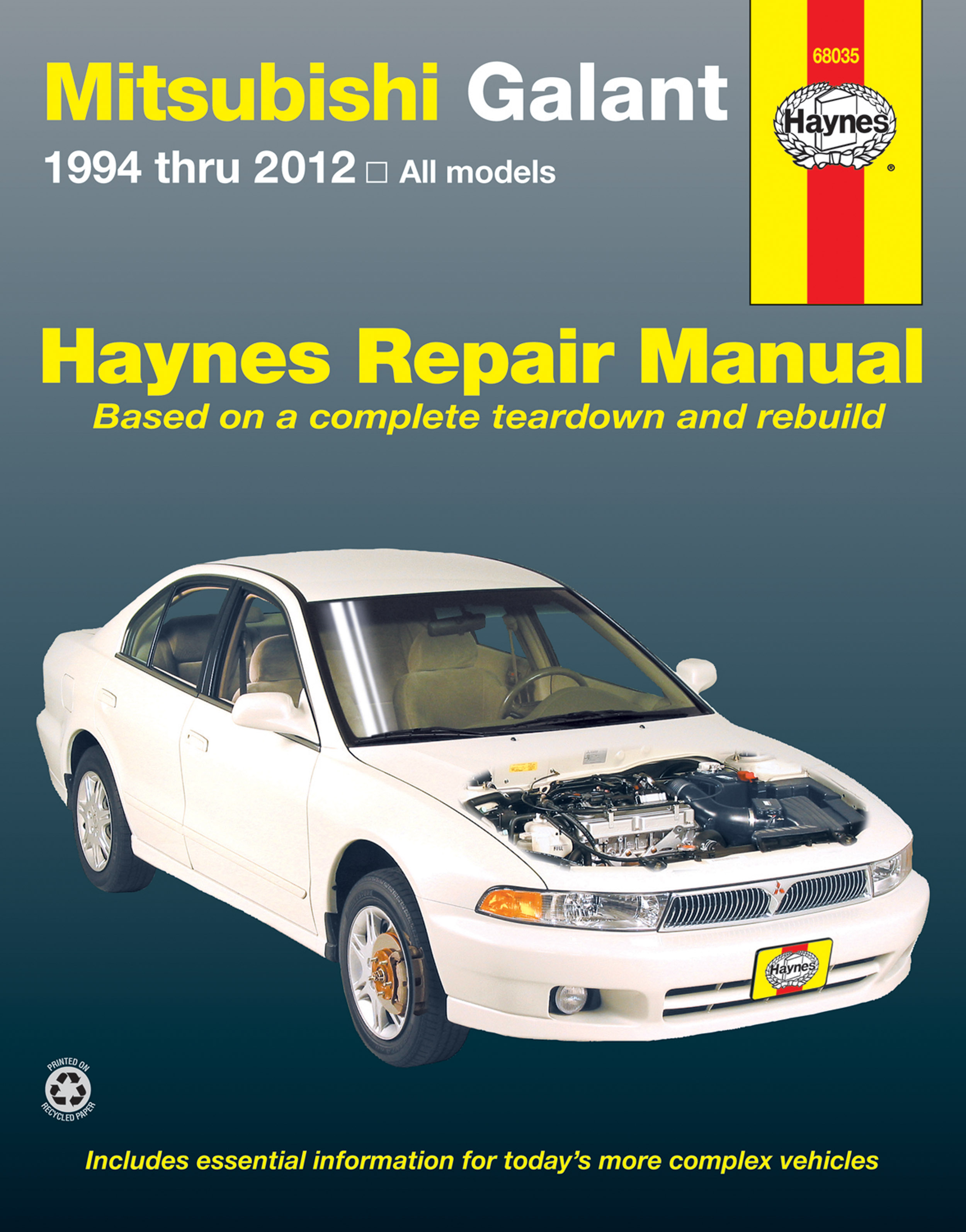 Enlarge Mitsubishi Galant (94-12) Haynes Repair Manual