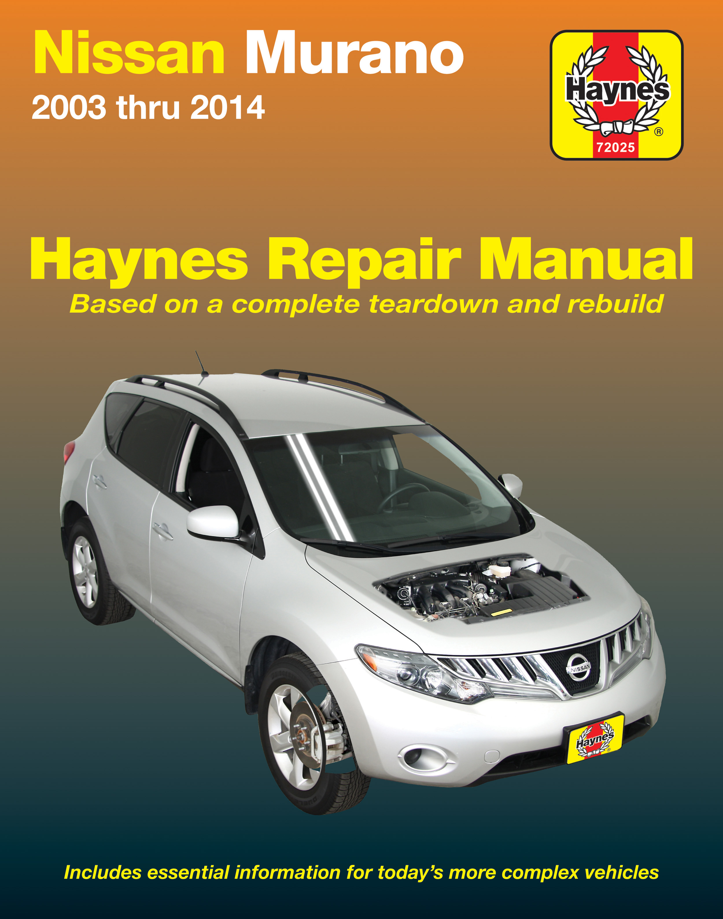 Enlarge Nissan Murano (03-14) Haynes Repair Manual