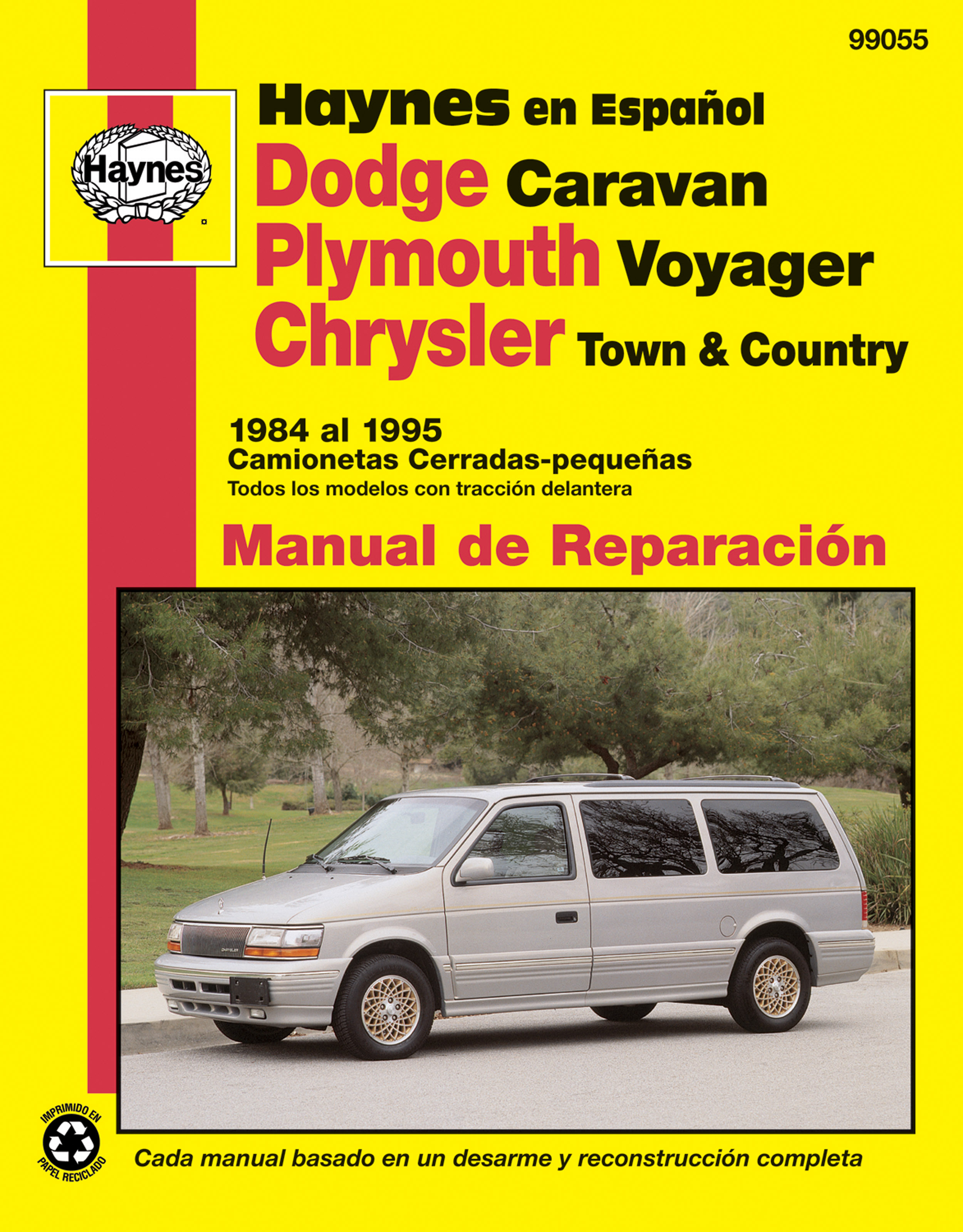 dodge caravan plymouth voyager chrysler town country camionetas rh haynes com Dodge Caravan Parts Manual 1995 Dodge Grand Caravan Manual