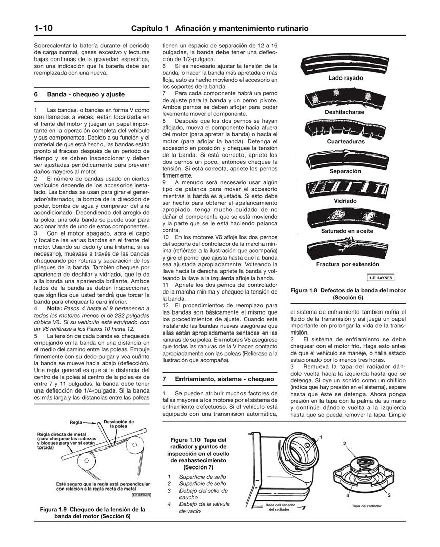 Ford y Mercury Modelos de Tamaño Mediano Haynes Manual de Reparación: (75-86