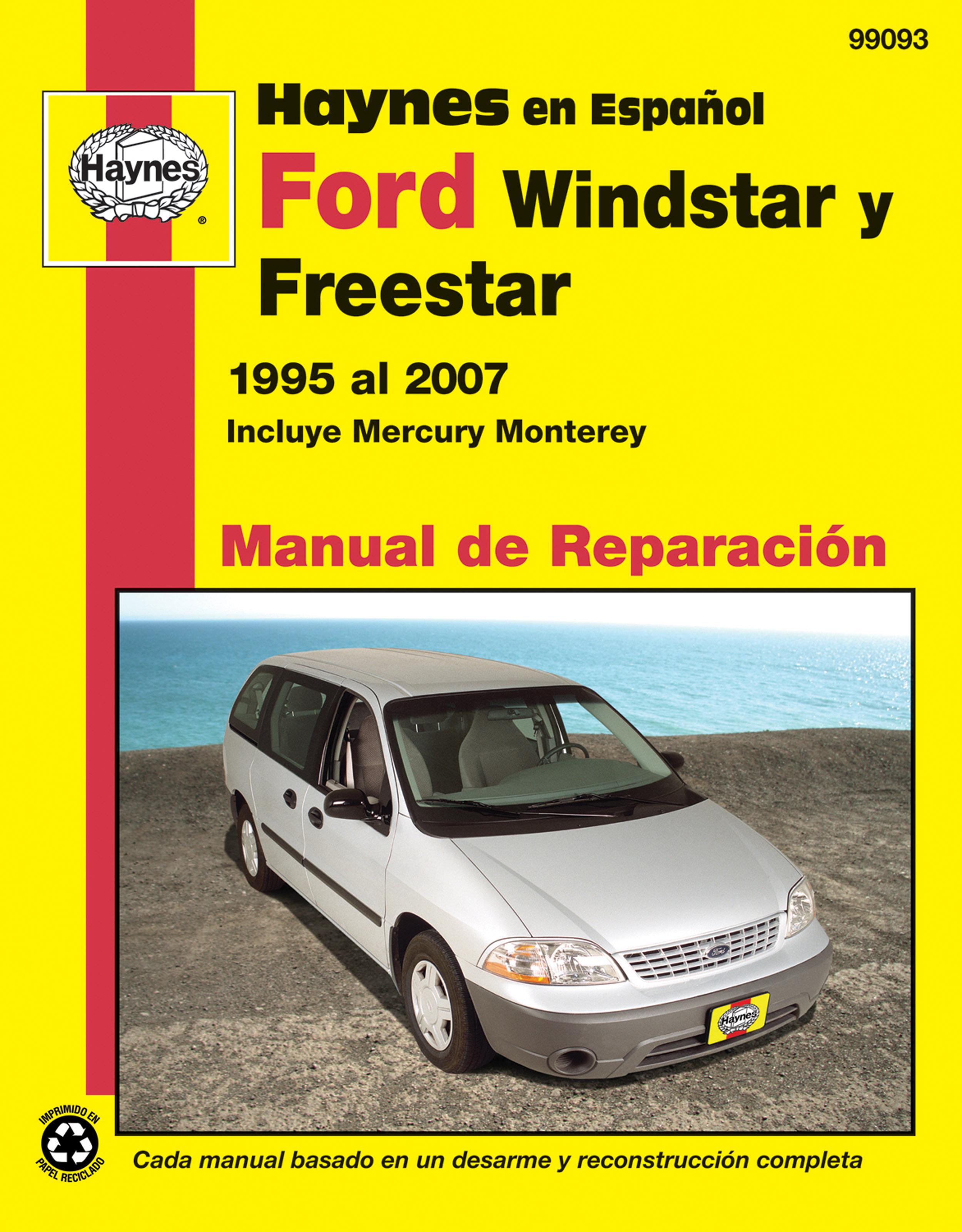 mercury monterey 2005 manual
