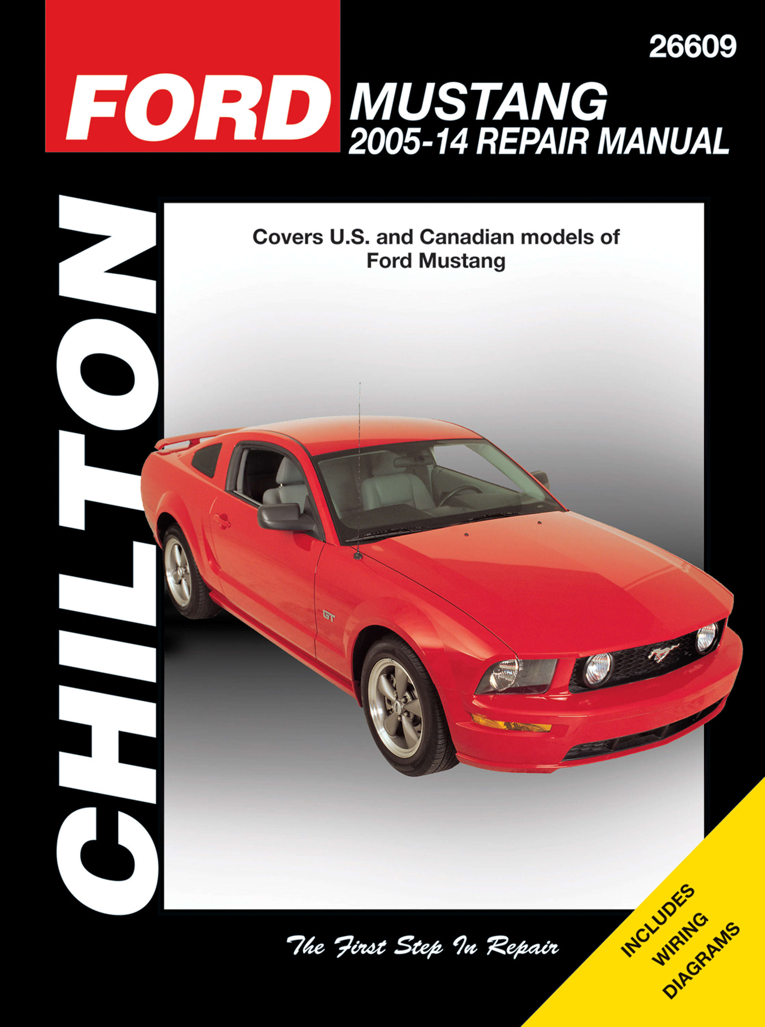 Ford Mustang (2005-14) for of Ford Mustang Chilton Repair Manual (USA)