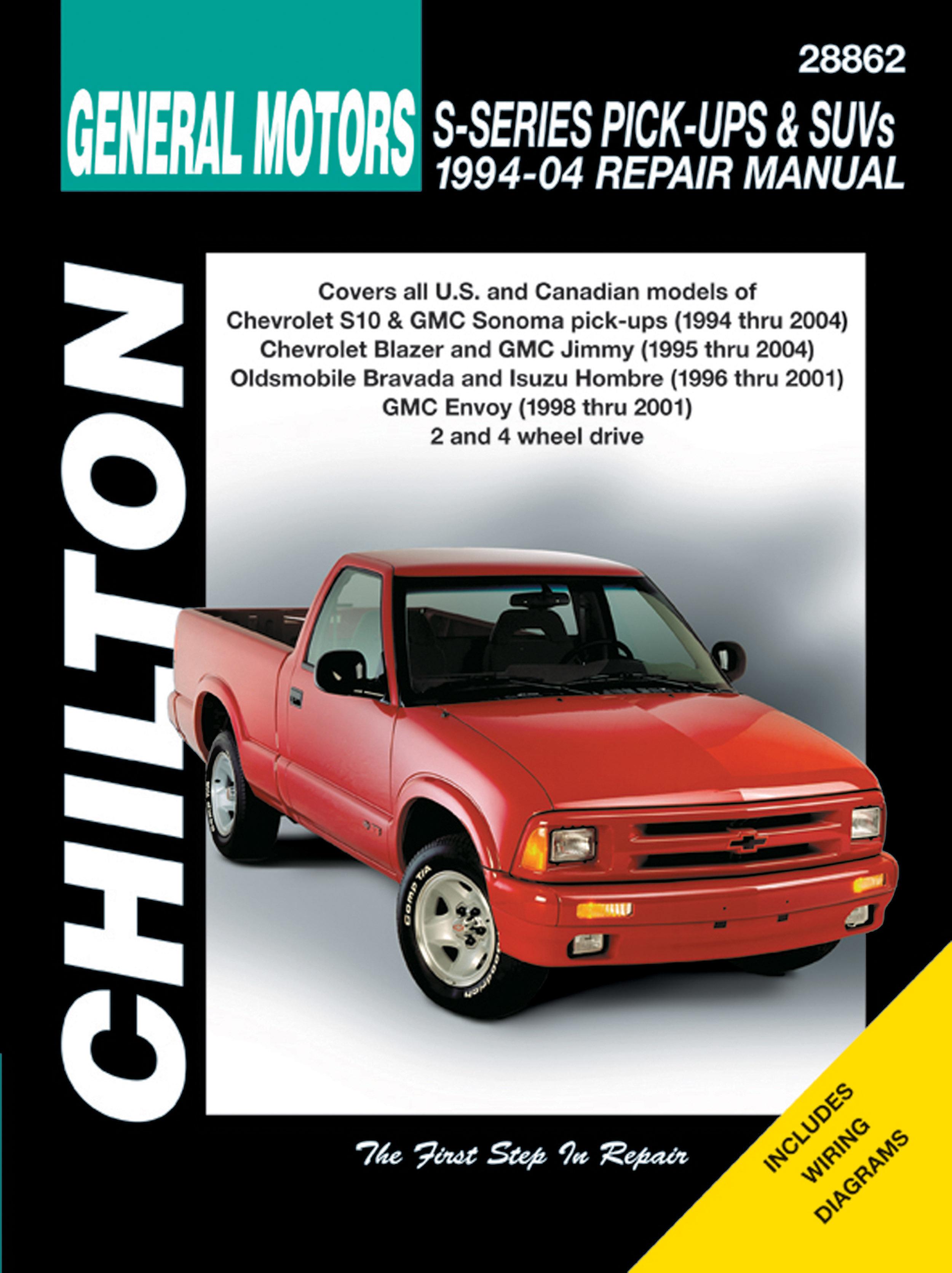 Chevrolet S10 Blazer (1994 - 1994) Chilton | Haynes ManualsHaynes Manuals