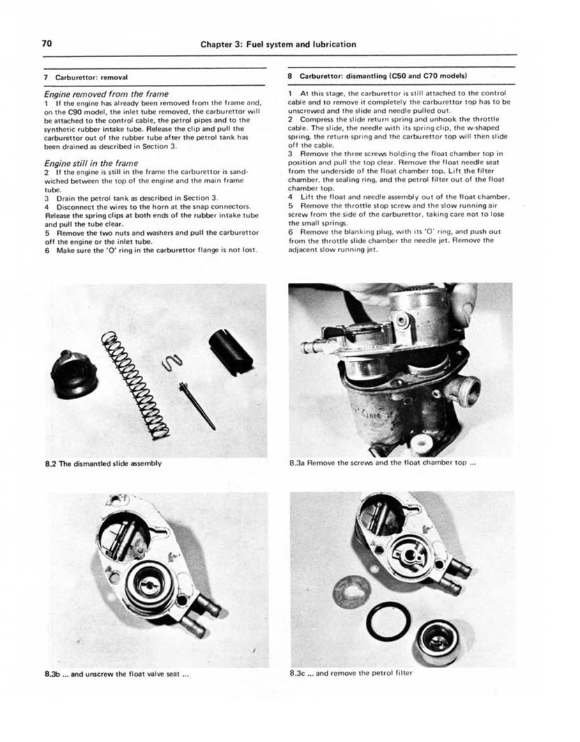 Manual honda pdf c90