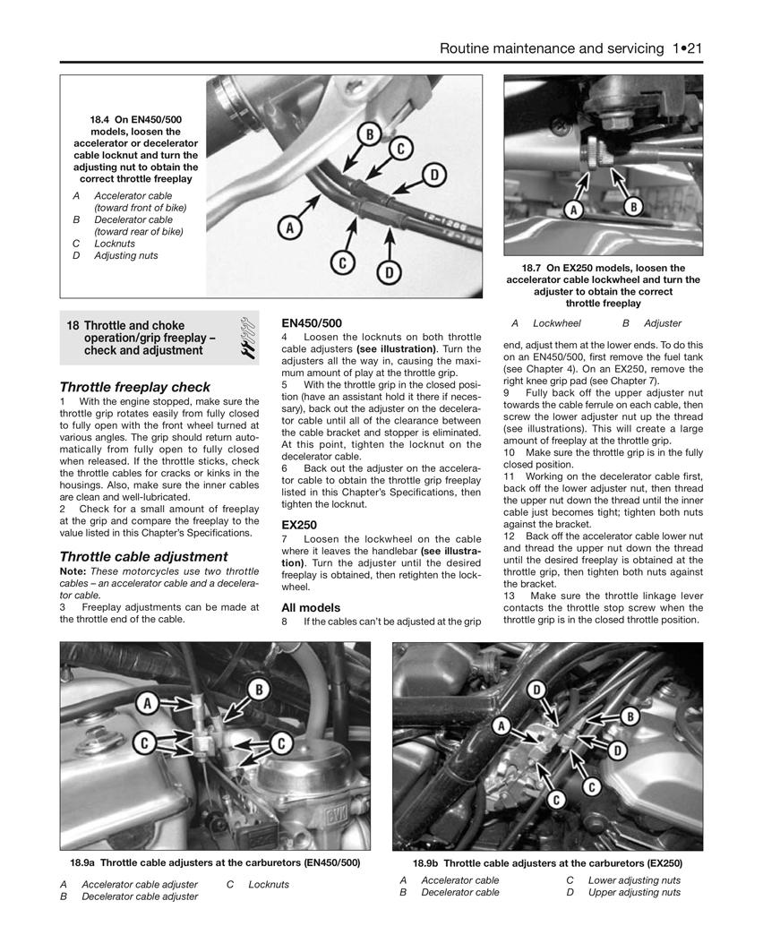 Kawasaki En450 454ltd Ltd450 85 90 En500 Vulcan 500 07 Wiring Diagram