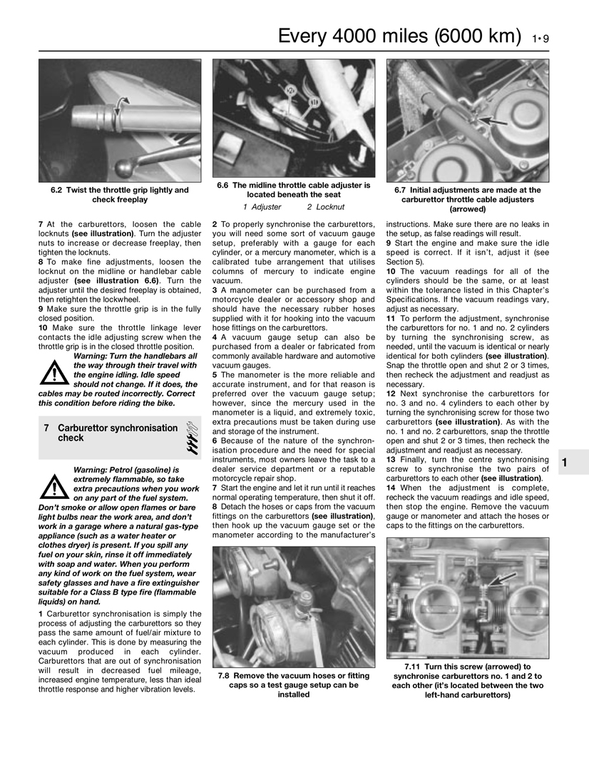 Yamaha Fj1100 84 85 Fj1200 86 92 Fj1200a 93 Haynes Wiring Diagram