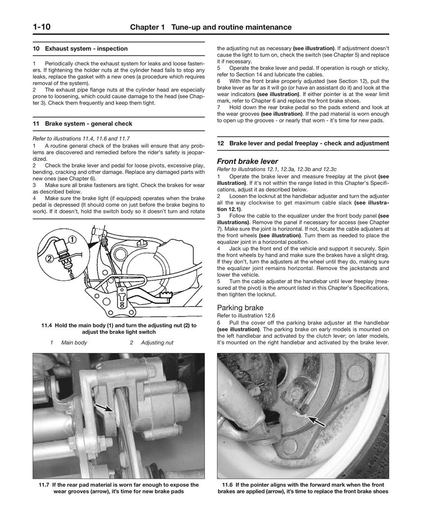 Yamaha Blaster Shop Manual Toshiba Color Tv 34hf85 Service Array Yfs200 200cc Atvs 88 06 Haynes Repair Rh Com