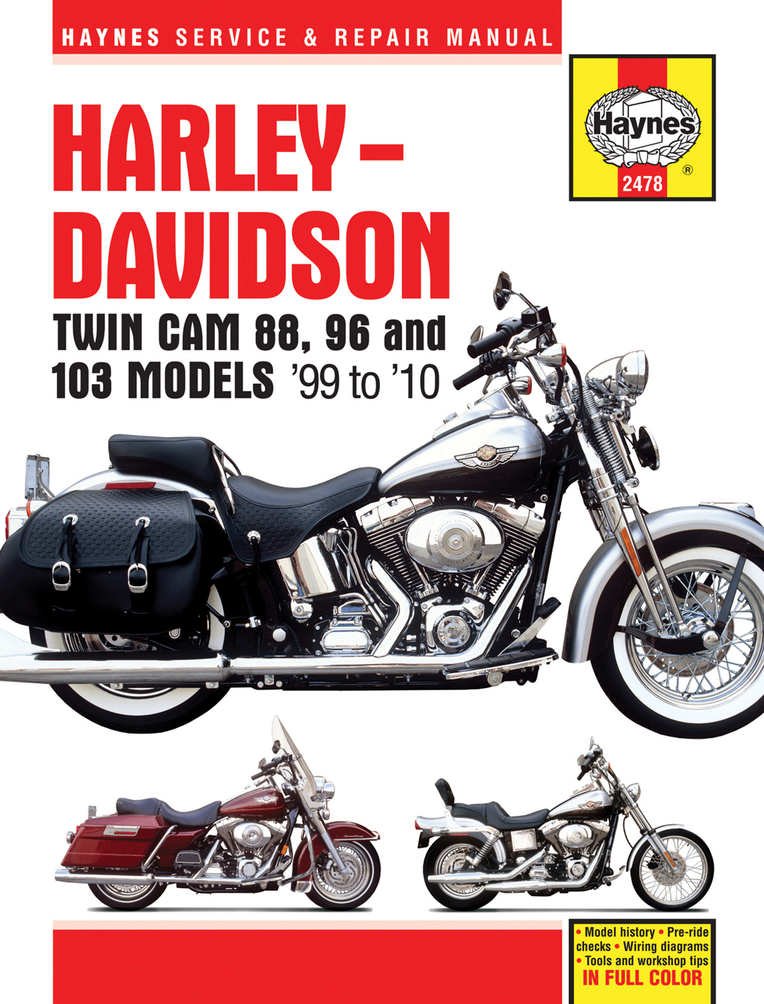 harley davidson twin cam 88 covering softail 00 10 dyna glide 99 rh haynes com 2010 harley softail service manual 2010 softail deluxe service manual