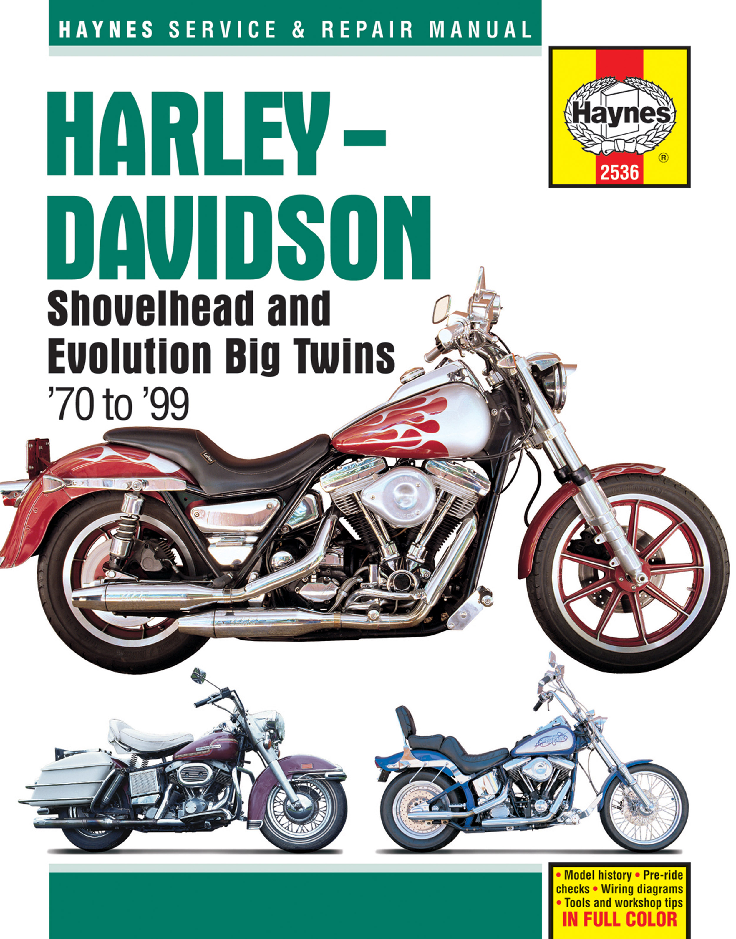 Evolution Big Twins Haynes Manuals 1964 Flh Wiring Diagram Enlarge Harley Davidson Shovelhead