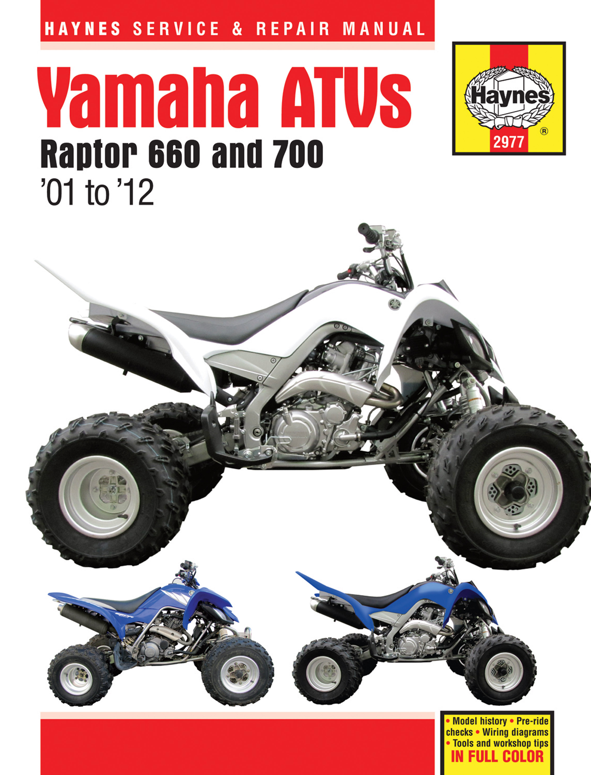 Enlarge Yamaha Raptor 660 (01-05) ...