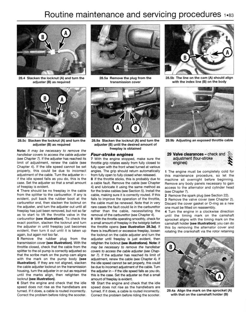 vespa et4 maintenance manual